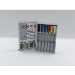 Edenta 173.21.654SO2 K-file kézi rövid,nagy sorozat