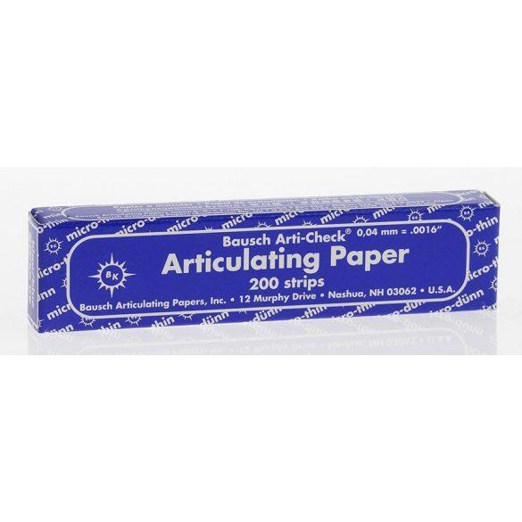 BK 09 art.papír 40mic kék 200 csík