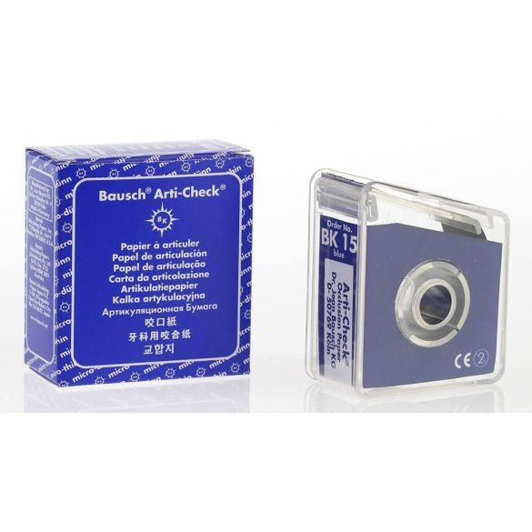 BK 15 art.papír 40mic kék+adag. 22mmx10m szalag Arti-Check