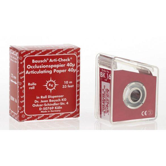 BK 16 art.papír 40mic piros+adag 22mmx10m szalag,Arti-Check