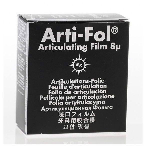 BK 24 art.fólia+tartó 8mic 2o. fekete,22mmx20m szalag,ARTI-FOL