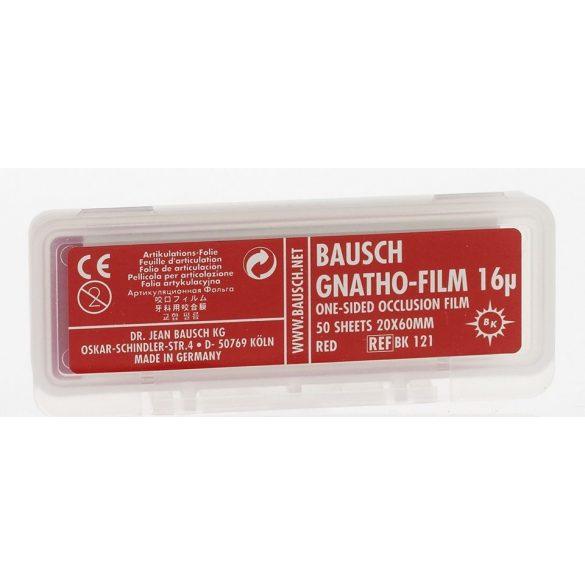 BK 121 art.fólia 16mic piros 20x60mm,50 csík,GNATHO-FILM