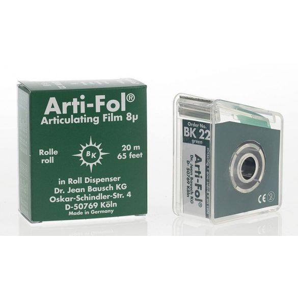BK 22 art.fólia+tartó 8mic 1o. zöld,22mmx20m szalag,ARTI-FOL