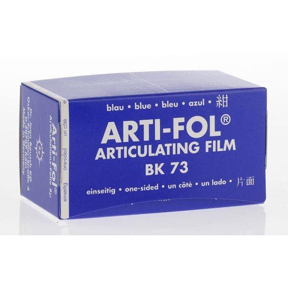 BK 73 art.fólia 8mic 1o.kék 75mmx20m szalag,Arti-Fol,Lab.