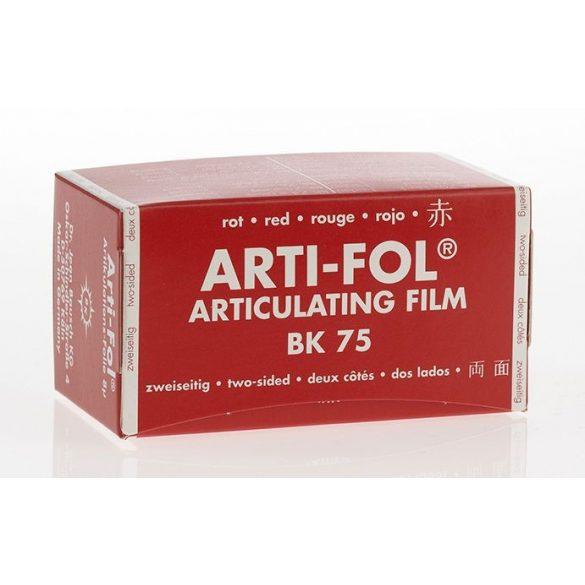 BK 75 art.fólia 8mic 2o.piros 75mmx15m szalag,Arti-Fol,Lab.