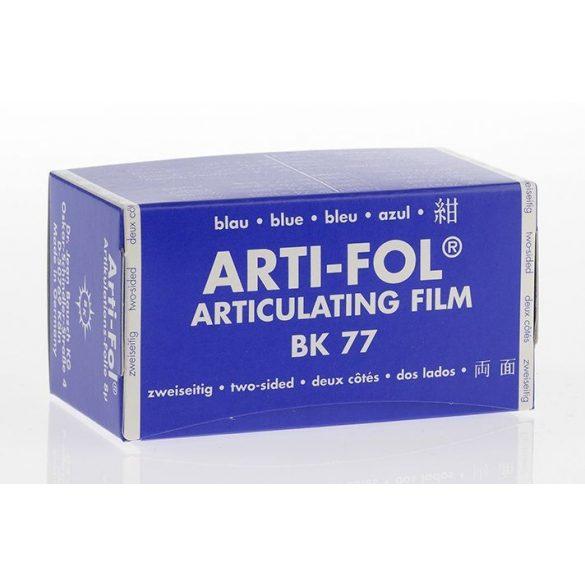 BK 77 art.fólia 8mic 2o.kék 75mmx15m szalag,Arti-Fol,Lab.