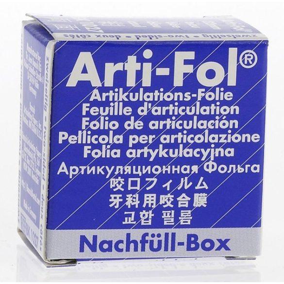 BK  1027 art.fólia ut.8mic 2o. kék,22mmx20m szalag,ARTI-FOL