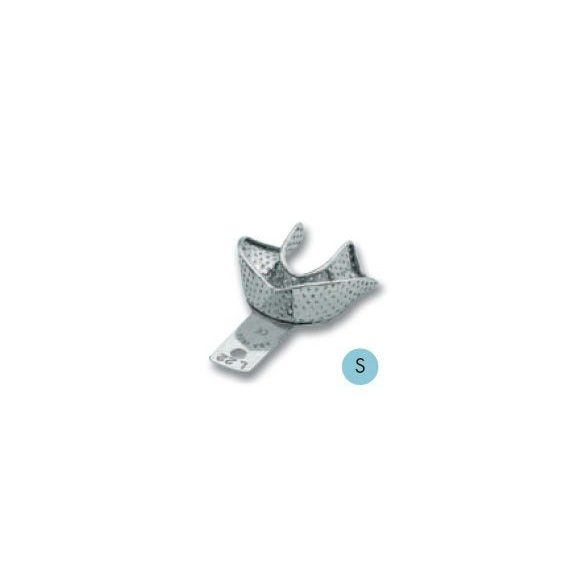 ASA 2809-L22 lenyomatkanál S als fém,perf.retenciós,részben fogas