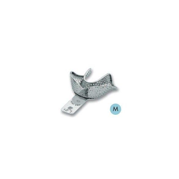 ASA 2809-L21 lenyomatkanál M als fém,perf.retenciós,részben fogas