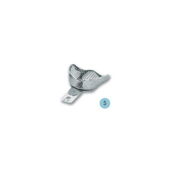 ASA 2809-U7 lenyomatkanál S fels fém,perf.retenciós,részben fogas