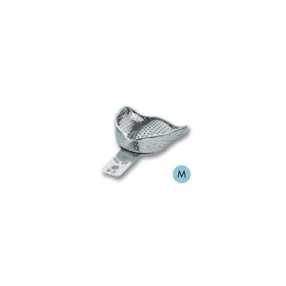 ASA 2809-U4 lenyomatkanál M fels fém,perf.retenciós,részben fogas