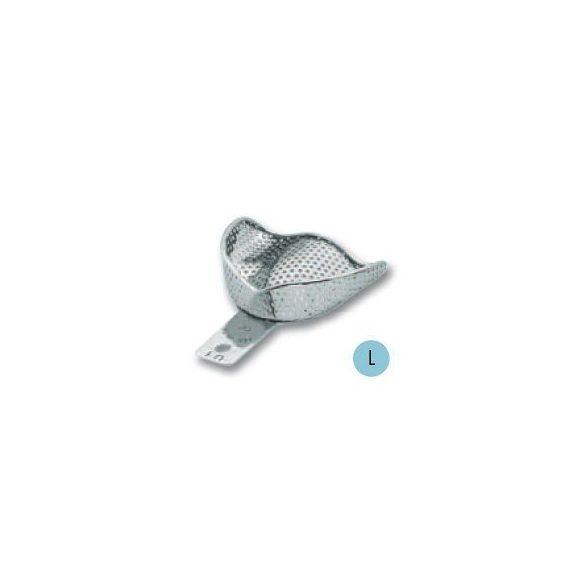 ASA 2809-U1 lenyomatkanál L fels fém,perf.retenciós,részben fogas