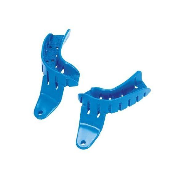 ASA 2853-L2D lenyomatkanál kék félkanál,jobb,műanyag