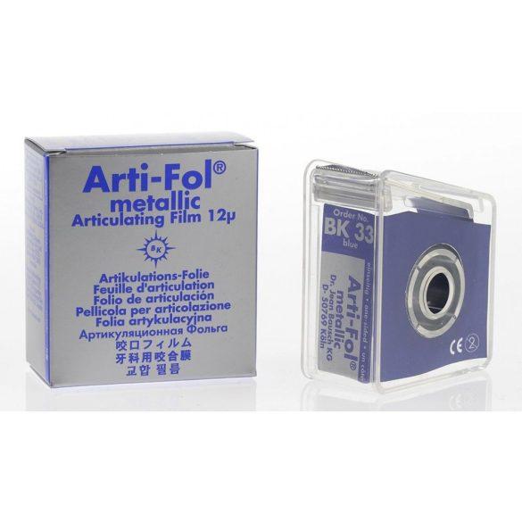 BK 33 art.fémfól+tartó 12mic 1o. kék 22mmx20m metallic,Arti-Fol
