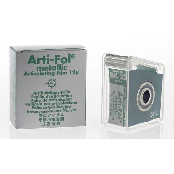 BK 32 art.fémfól+tartó 12mic 1o. zöld 22mmx20m metallic,Arti-Fol