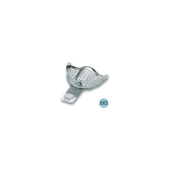 ASA 2801-U1 lenyomatkanál XXS f. fém,perf.,Codicolor,fehér