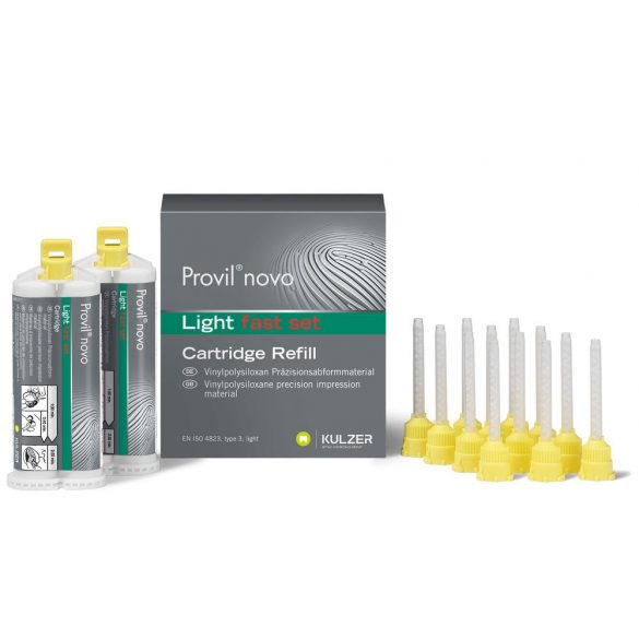 Provil Novo light fast set 66006466  2x50ml + 12xcsőr