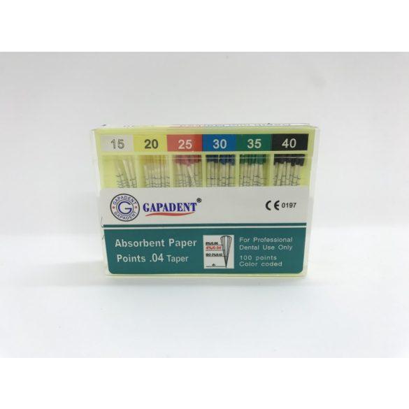 Papircsúcs Gapa.mm GT0,4  15-40 100 db,GAPA.PP.GT04.15-40