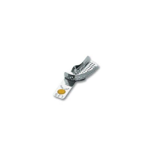 ASA 2801-L2S félkanál bal alsó fém,perf.,Codicolor,sárga