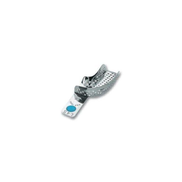 ASA 2801-L4S félkanál bal alsó fém,perf.,Codicolor,kék