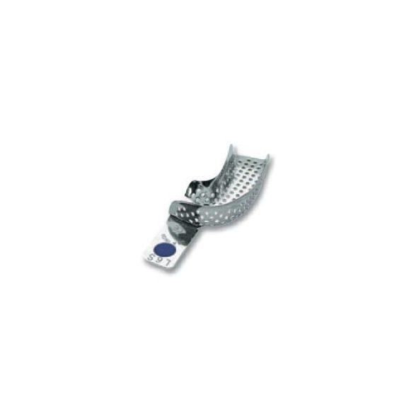 ASA 2801-L6S félkanál bal alsó fém,perf.,Codicolor,lila