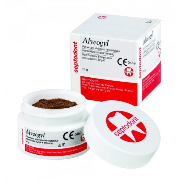 Alveogyl tégelyben 10gr fogmeder kezelésre SEP015fájdcsill.gyull.csökk.