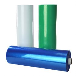 Nyálkendő  műanyag 200db 53x80 kék,PE Ka/200 B,18 mic.