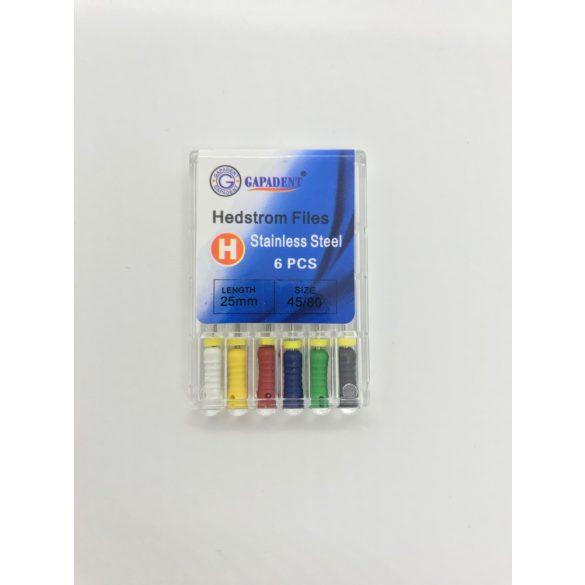 H-File Gapadent 25mm, 45-80,6db kézi