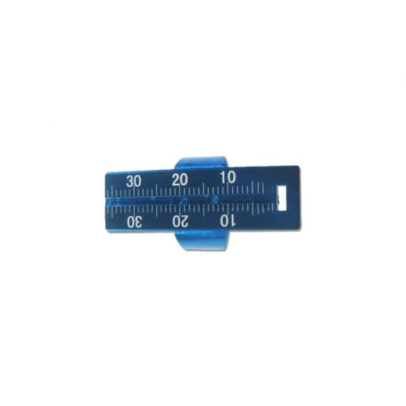 Endo ujjbemérő alumínium 1A9254 kék