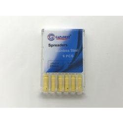 Spreader Gapadent 25mm,20,sárga 6db,kézi
