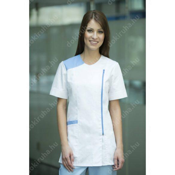 Milland Angelina tunika 38 kék-fehér