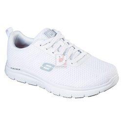 Cipő Flex Advantage Bendon férfi 44,Skechers 77125EC fehér munkacipő
