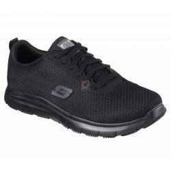 Cipő Flex Advantage Bendon férfi 43,Skechers 77125EC fekete munkacipő